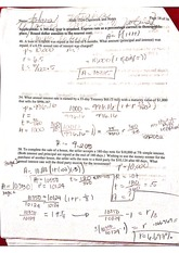Math 1324 Business Calculus Classwork and Notes