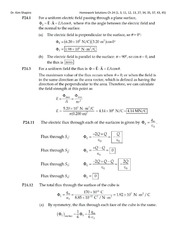 PHYS 21 Fall 2013 Homework 2 Solutions