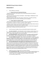 Manage Employee Relations Assesment 1.doc