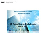 FoBA_FS2015_03_From Share-Stakeholder Value to Ethics and Social Responsibility