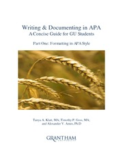 Writing&DocumentingAPA