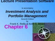 Ch06 Efficient Capital Markets