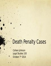 DeathPenaltyCases