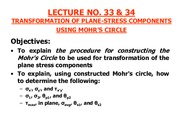 LECTURE # 33 & 34