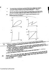 Velocity and Slope II Practice Questions With Answers