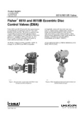 Fisher® 8510 and 8510B Eccentric Disc Control Valves (EMA)