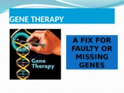 Gene Therapy.pptx