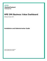 OMi_10 11_Admin_Guide pdf - HPEOperations Manager i Software