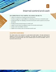 Chapter 8 Internal Control and Cash  (pp.  387-422)