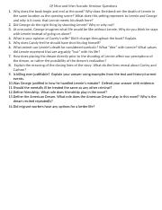 Of Mice and Men Socratic Seminar Questions.docx