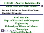 ECE530 Fall 2014 Lecture Slides 8