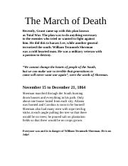 The March of Death.docx
