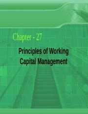 Ch_27_Principles of Working Capital Management.ppt