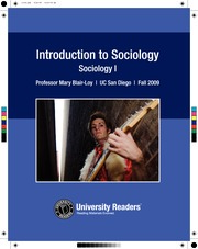 Sociology Reader
