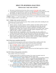MNGT 379 (Fall 2015) Midterm Exam 1 Study Guide
