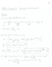 PHYS 507 Assignment 2 Solutions