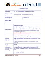 Project Design, Implementation and Evaluation_Assignment Brief 2.doc
