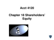 Acct 4120 Chapter 18 Spiceland 5th edition