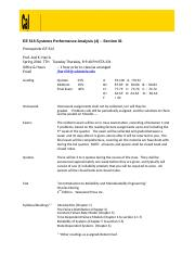 EE 515-01  System Performance Analysis Syllabus.docx