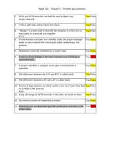 Chapter 5 - possible quiz questions(1)