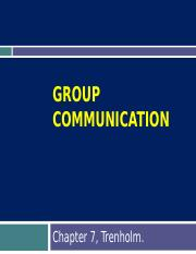 Ch.7 group communication