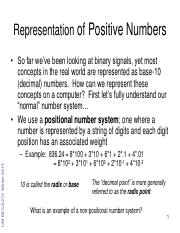 3 - Positive Binary Numbers