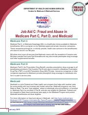 Job Aid C_Fraud and Abuse in Medicare Part C_Part D_n Medicaid.pdf