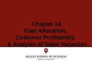 Cost Accounting Lecture 20-Variance Mix