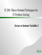 Arrays as Instance Variables I.pptx