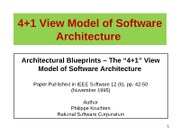 02a-4+1 View Model of Software Architecture