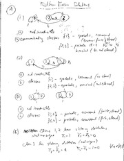 Midterm Exam Fall 2013 Solutions on Applied Stochastic Method