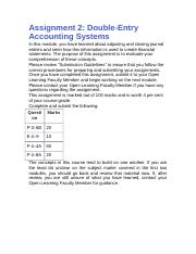 Accounting Assignment 2