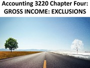Chapter 4 - Accounting 3220