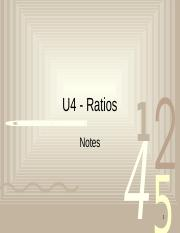Notes-U4-Ratio (1)