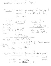 variances and standard deviation notes