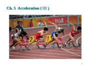 Chapter 5 Acceleration