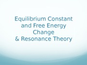 equilibrium & resonance structure