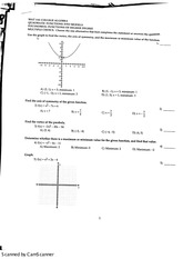 Polynomial Functions of Higher Degree Study Guide