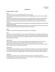 CASE BRIEF 12