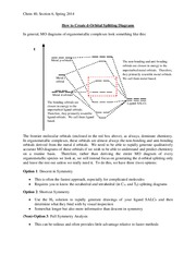CHEM 40 Spring 2014 Section Handout 6