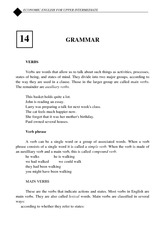 Grammar lecture note