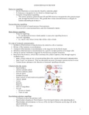 Endocrinology Notes