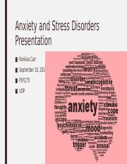 Anxiety and Stress Disorders Presentation completed.pptx