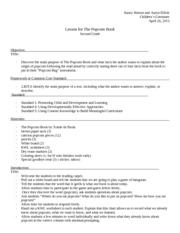 Popcorn Book Lesson Plan