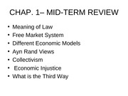 Midterm Review MGMT 350