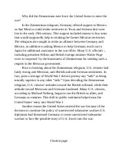 _the Zimmerman note to United States.docx