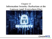 Class 23 - Information Security