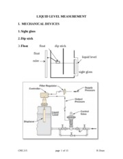 REvised LIQUID LEVEL MEASUREMENT-posted notes