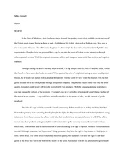 Microeconomics Essay 3- Business Writing