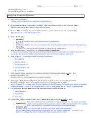 Chapter 22 Origin Of Species Reading Guide Pdf Name Block Ap